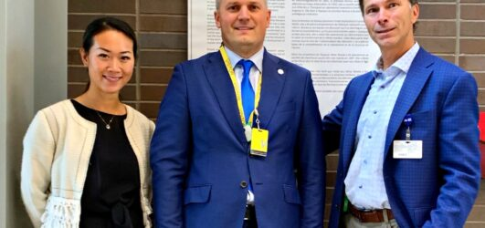 Kalev Kallemets Kanada tuumalaboratooriumis (CNL)