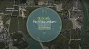 Vähendatud avariiplaneerimisala NuScale näitel